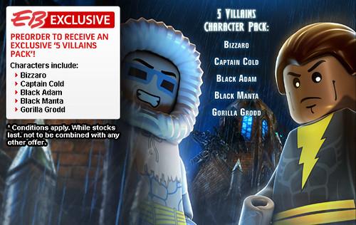 EB Games Offers LEGO Batman 2