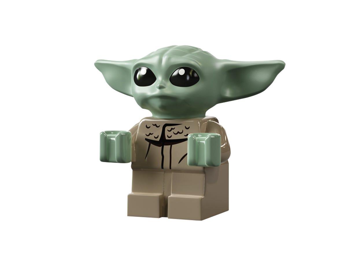 Star Wars The Mandalorian Razor Crest Building Blocks Lego 75292 Minifigure Ship