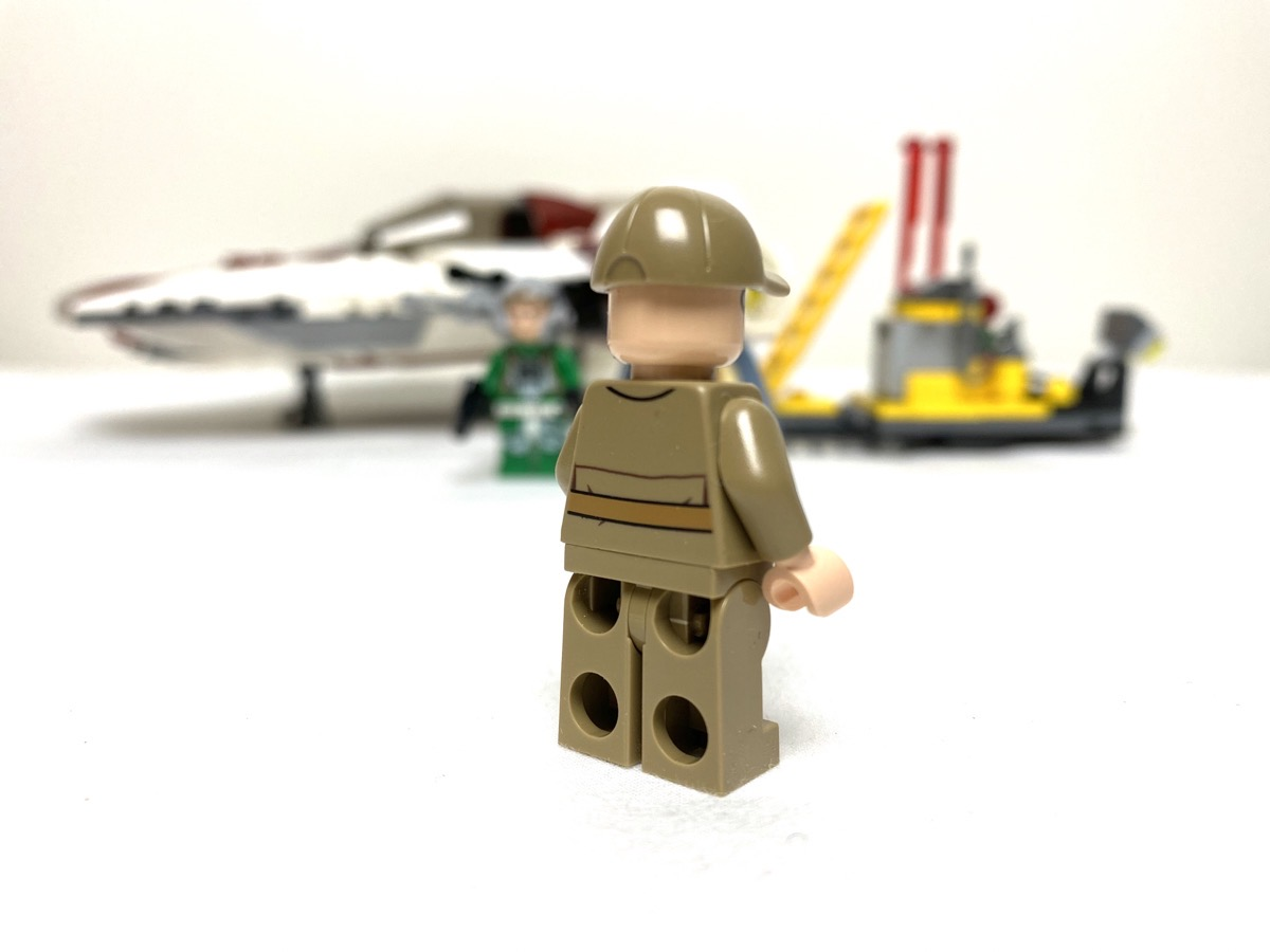 75175 A-Wing Starfighter General Rebel Ground Crew front
