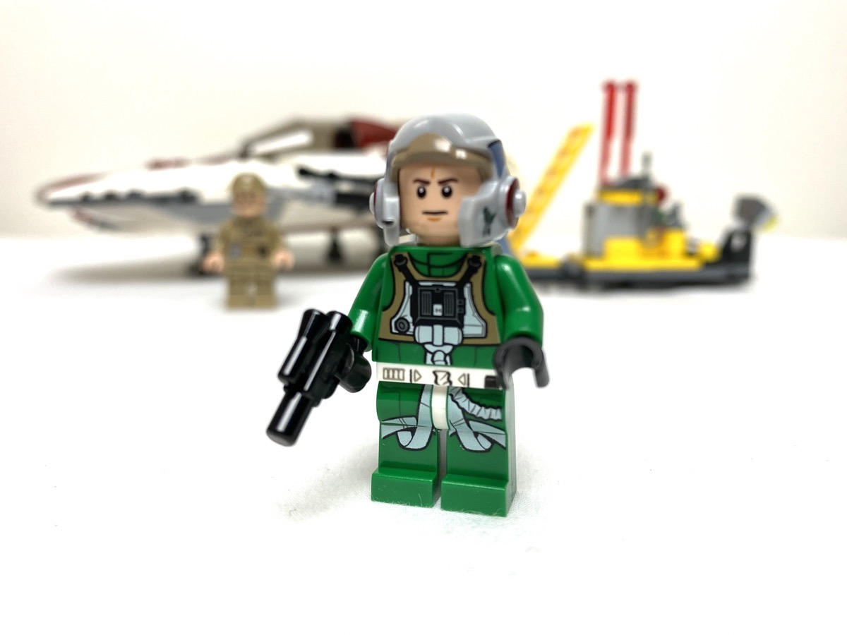 75175 A-Wing Starfighter General Pilot front