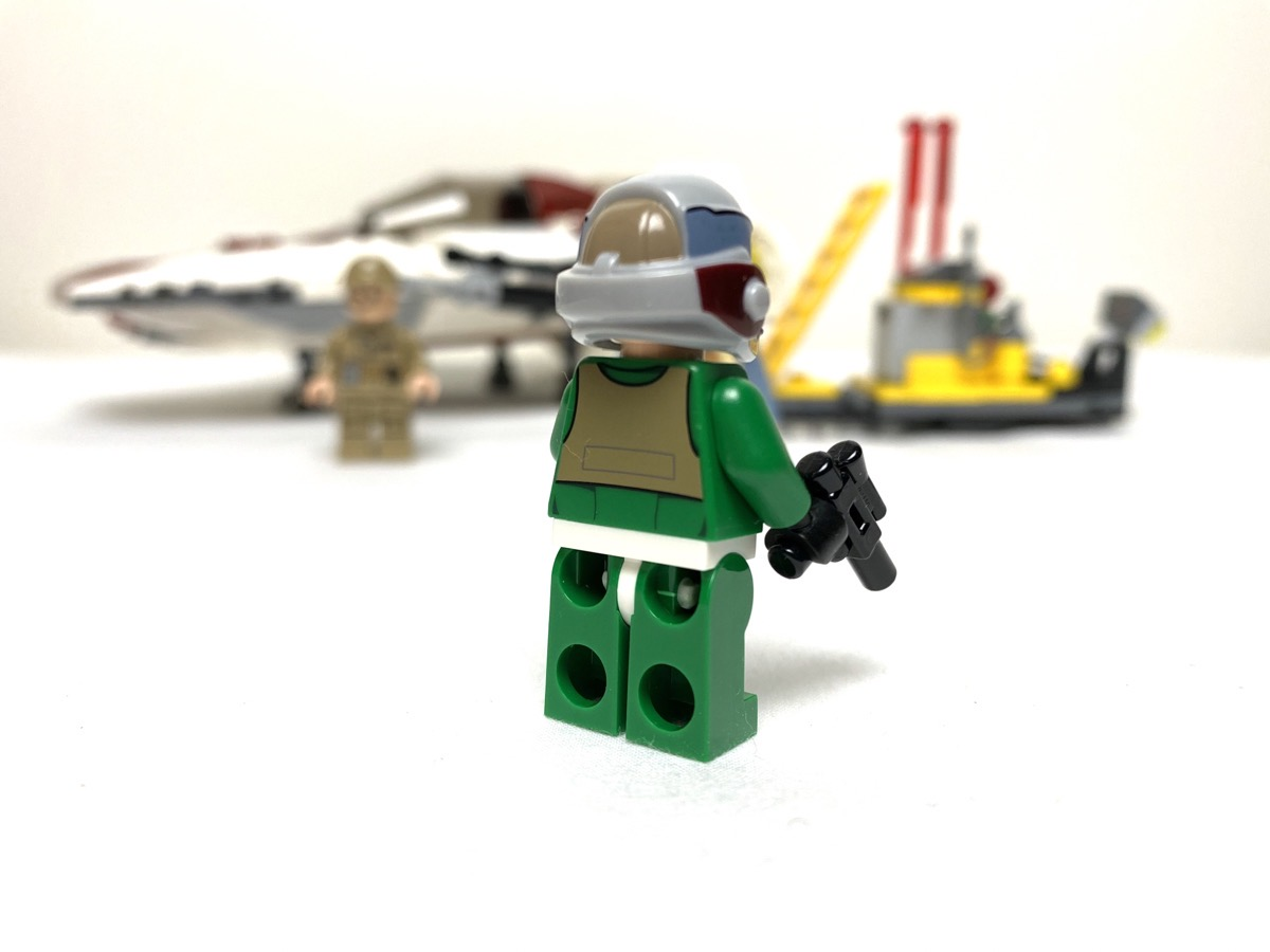 75175 A-Wing Starfighter General Pilot back