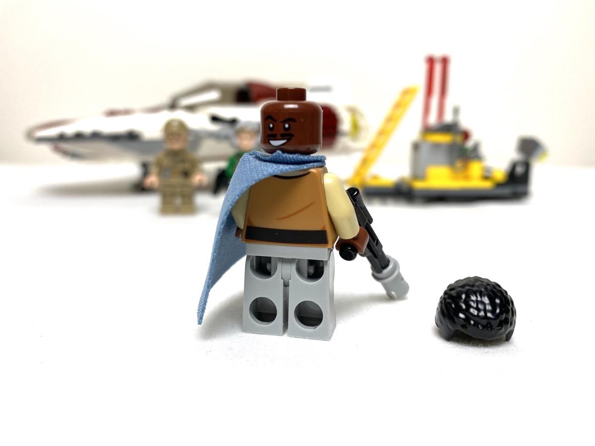 75175 A-Wing Starfighter General Lando Calrissian back