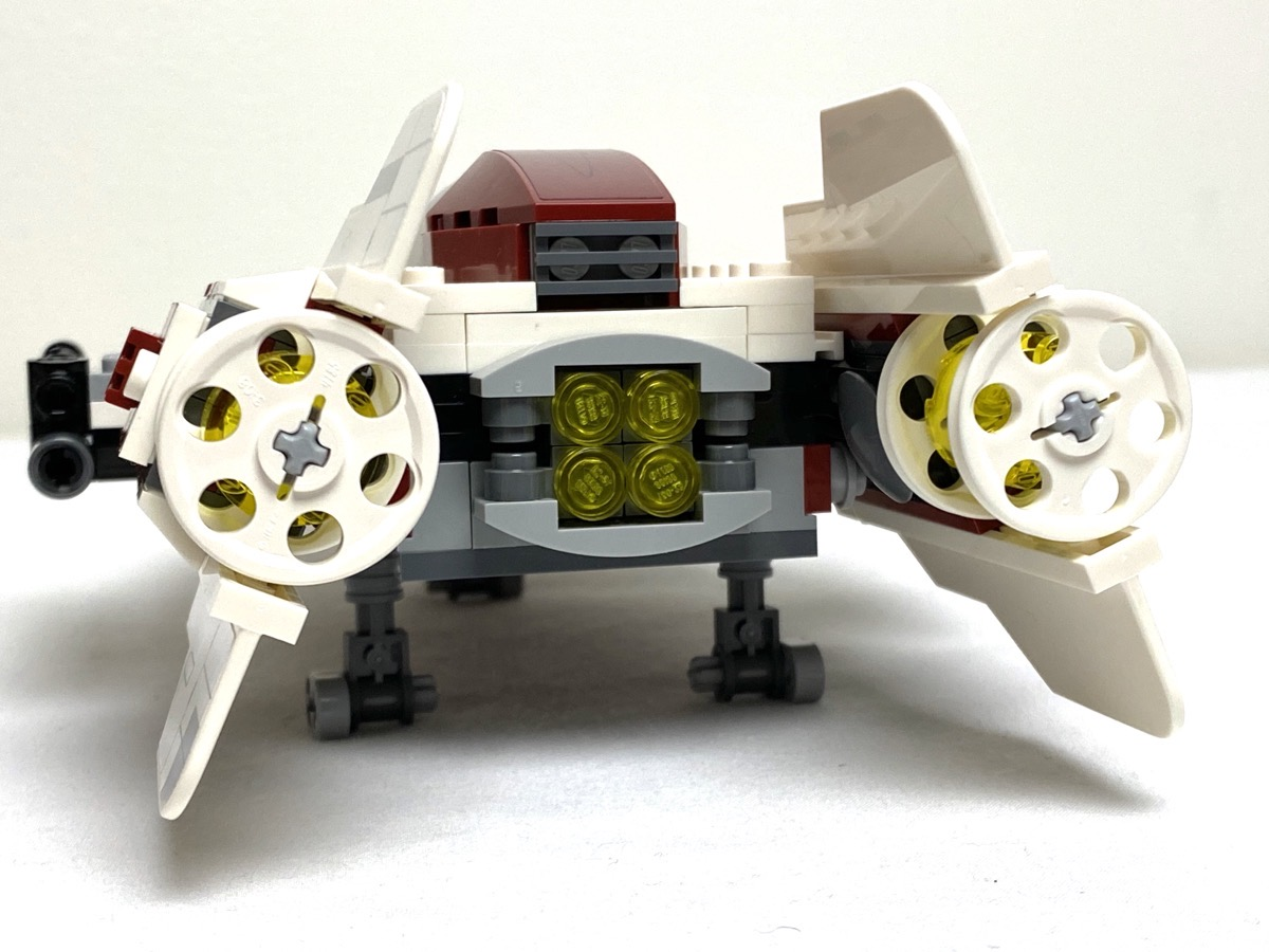 75175 A-Wing Starfighter angled fins