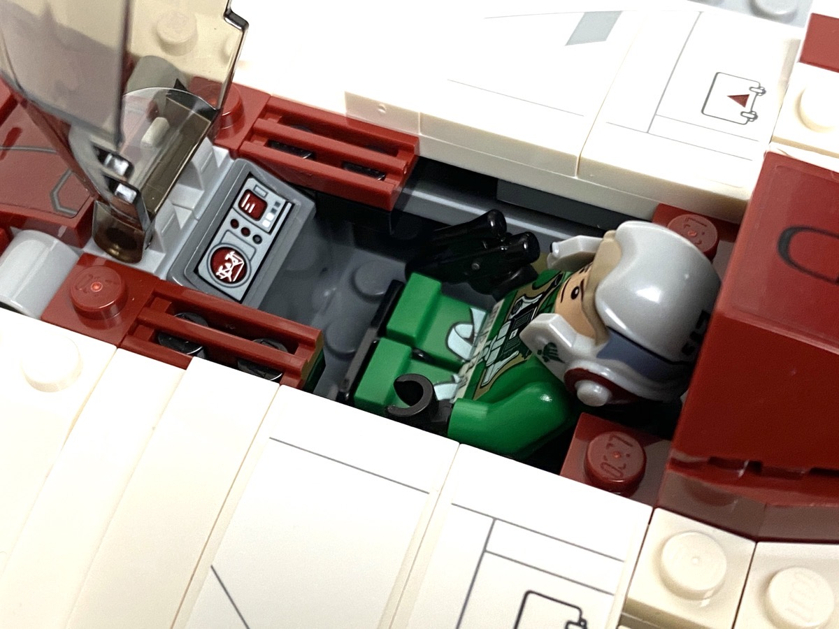75175 A-Wing Starfighter cockpit