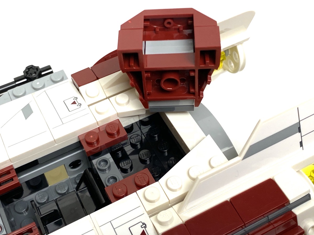 75175 A-Wing Starfighter storage compartment