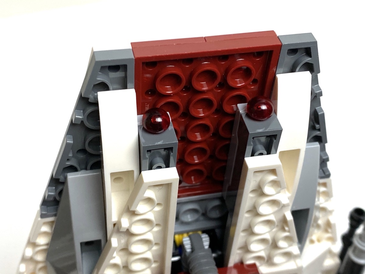 75175 A-Wing Starfighter hidden spring loaded missiles