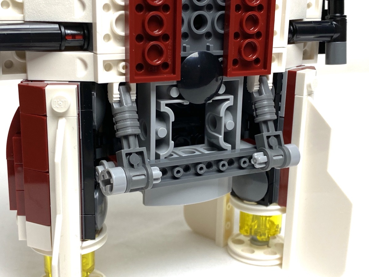 75175 A-Wing Starfighter rear landing gear