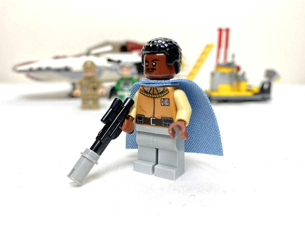 75175 A-Wing Starfighter General Lando Calrissian front