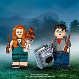lego hp cmf ginny weasley and harry potter