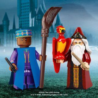 lego hp cmf kingsley shacklebolt and albus dumbledore