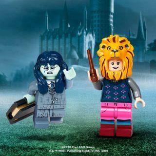 lego hp cmf moaning myrtle and luna lionhead lovegood