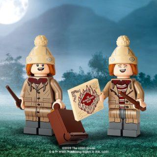 lego hp cmf weasley twins fred and george