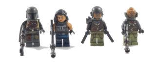 75254 AT-ST Raider – Minifigures