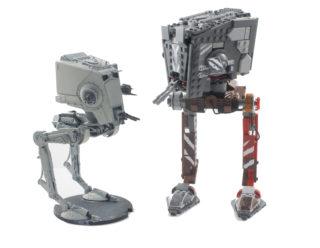 75254 AT-ST Raider – Walker Comparison