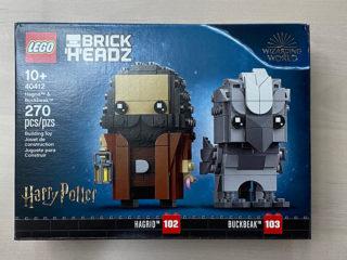 40412 Hagrid Buckbeak BrickHeadz