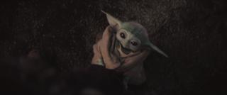 Baby Yoda hug me