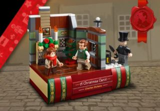 lego black friday charles dickens tribute set