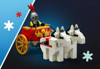 lego black friday vip chariot