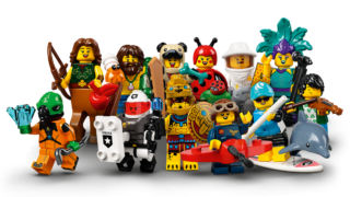 71029 collectible minifigures series 21