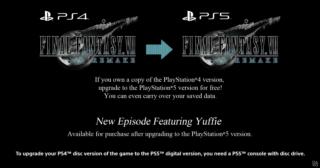 final fantasy vii remake intergrade upgrade path