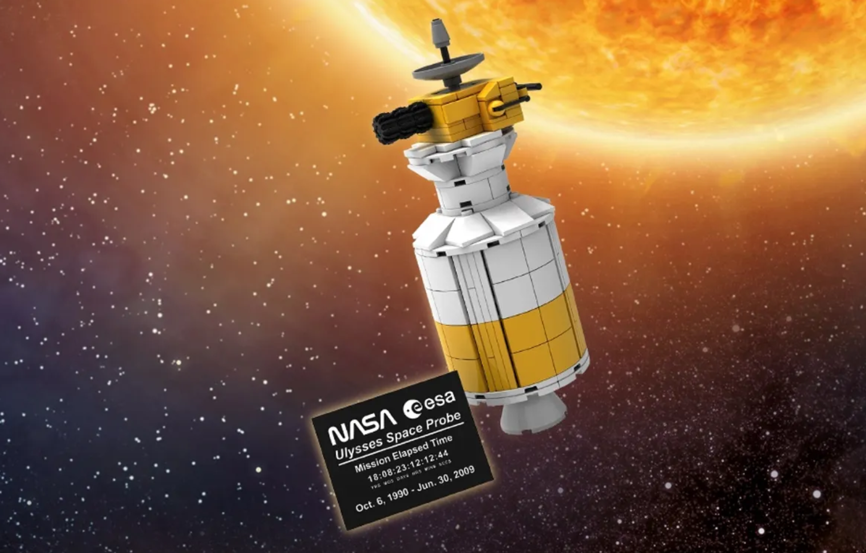 Double VIP Points Right Now, Ulysses Space Probe Available Tomorrow 4/14